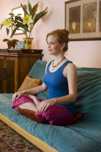 Model Kellie-Marie relaxing at Transcendentist