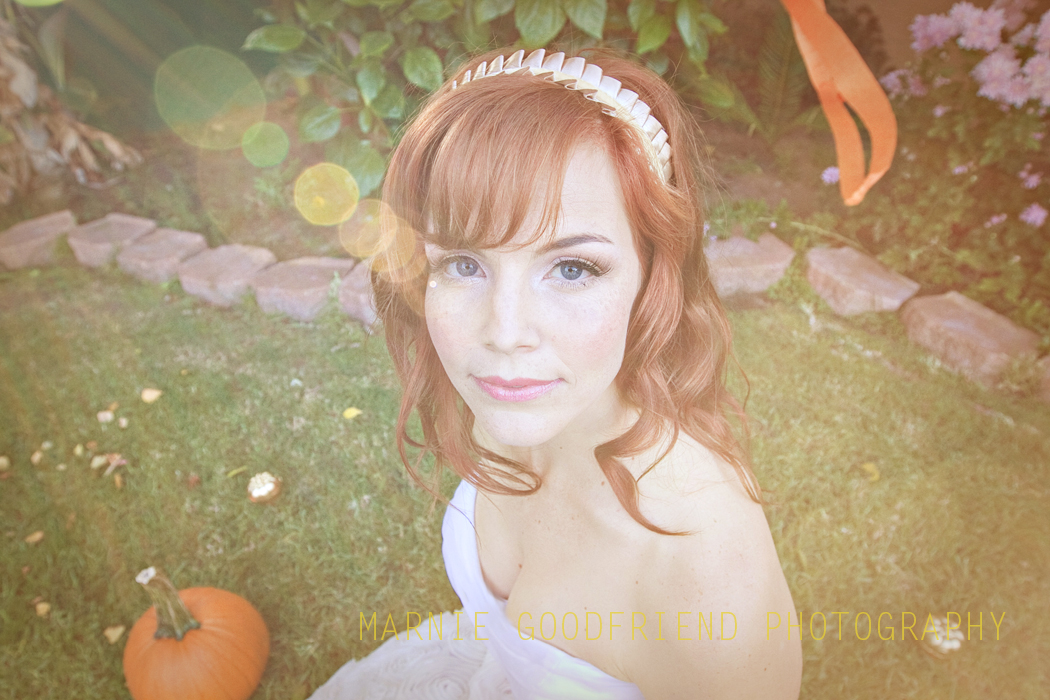 Kelli Shane in wedding photoshoot