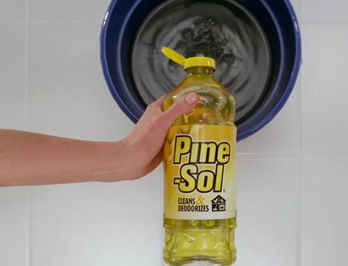 Pine-Sol Commercial (Fridge)