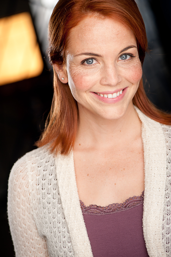 Kelli Shane Headshot Redheaded Actress