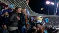 Kelli Shane plays hero fan in GE Commercial