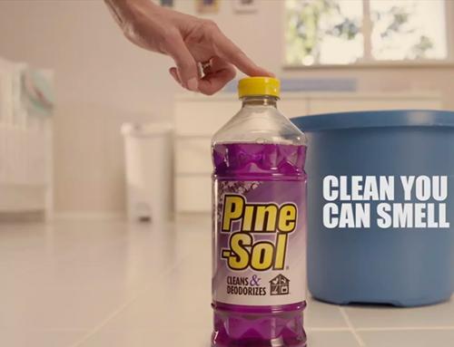 Pine-Sol Commercial (Diaper Pail)